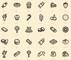 Icons by hours