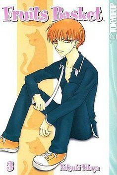 Fruits Basket manga by Natsuki Takaya Cute Anime Boy, Anime Guys, Manga Anime, Hot Anime, Yuki Sohma, Good Books, My Books, Kamichama Karin, Tohru Honda
