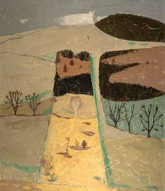 "transistoradio: "" William George Gillies Wooded Hillside oil on hardboard, x cm. Via BBC. Paintings I Love, Your Paintings, Landscape Art, Landscape Paintings, Indigenous Art, Art Uk, Art Plastique, Painting Inspiration, Painting & Drawing"