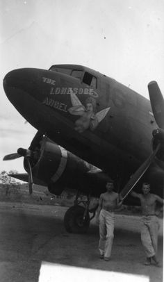 Lonesome Angel C-47 Planes from Unknown Groups or Squadrons Sharpe 36 (Thomas Sharpe Collection)