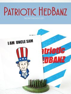 Printable Patriotic HedBanz cards - My kids LOVE this game! Can't wait to play this version!