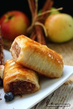 Fina pita ,posebno ako je pravljena sa kiselim jabukama koje joj daju predivan ukus!