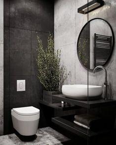 Bathroom Decor black and white Bathroom Grey Black White Decor Ideas For 2019