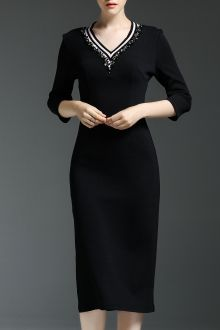 SHARE & Get it FREE | Rhinestone Slit Sheath DressFor Fashion Lovers only:80,000+ Items • New Arrivals Daily • FREE SHIPPING Affordable Casual to Chic for Every Occasion Join Dezzal: Get YOUR $50 NOW!