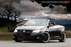 "Black on Black Volkswagen EOS ""Special Edition - SOON!! Decided this is going to be my new car :)"