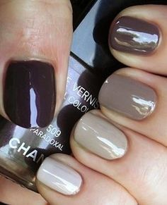 Best Nail Art for Fall and the Holidays | Martha Lynn Kale for Camille Styles by wing.suen.56
