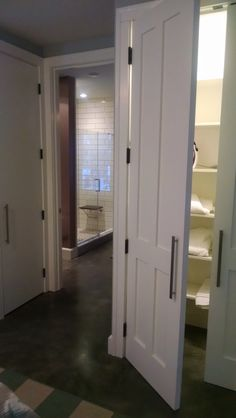 Bathroom Entry from master bedroom