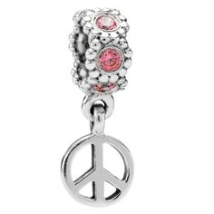 Pandora Jewelry and Pandora Charms!  This one is for growing up in the 60's...the Peace sign from our time.