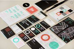 99U's 2016 Conference Branding by Mark Brooks #InspoFinds