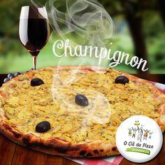 Feito para E-Dialog Comunicação Digital Cliente: O clã da pizza  #pizza #facebookmarketing #wine