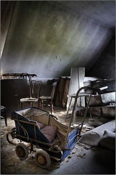 An abandoned house in Belgium.