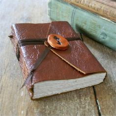 Bound leather journal for the writer to keep with her   Bijoux Gems Joy: Mother's Day - Planning Ahead
