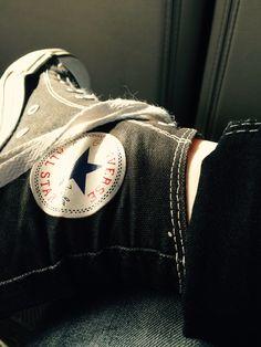 My converse. -Trinity Zipp