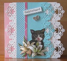 I love this edge and I think it is a Marianne die...beautiful card