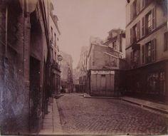 Perspective de la rue Saint-Médard, 5ème arrondissement, Paris | Paris Musées