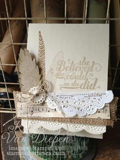 doily feather fabric
