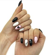 Semi-permanent varnish, false nails, patches: which manicure to choose? - My Nails Valentine's Day Nail Designs, Acrylic Nail Designs, Nails Design, Pink Nails, My Nails, Nagellack Design, Pretty Nail Art, Super Nails, Cute Acrylic Nails