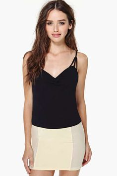 Nasty Gal Strapped In Tank