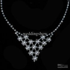 Wholesale Bridal Jewelry - Buy Wedding Pearl Rhinestone Necklace Crown Earring Bridal Jewelry Sets H36, $246.52 | DHgate