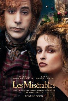 Thénardier (Sacha Baron Cohen) & Madame Thénardier (Helena Bonham Carter) Character Poster - Les Misérables