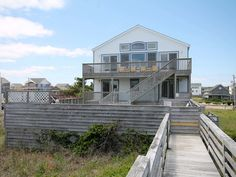 Outer Banks Rentals Ocean Front 1st Wave Waves NC cape hatteras 7BR