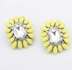 Cheap bead, Buy Quality bead glass directly from China bead drop earrings Suppliers:    3colors Wholesale Cheap Jewelry New 2014 Women Fashion Bohemia Resin Beads Earrings Cute Rhinestone Statement Stud Ea
