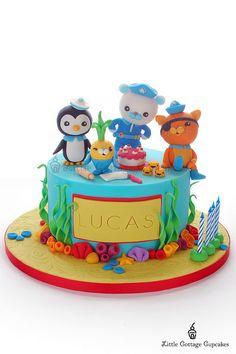 Octonauts cake - very talented decorator!!