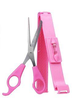 Hot Practical Convenient Home Women/Girls Hair Clip Bangs Cosmetic Scissors Haircut Beauty Makeup DIY