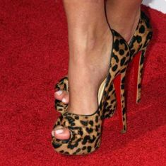Trendy High Heels For Ladies : Pin these shoes Shoespie Sexy Leopard Peep Toe Platform High Heel Pumps Hot Shoes, Crazy Shoes, Me Too Shoes, Women's Shoes, Trend Fashion, Fashion Shoes, Fashion Women, Fashion Pics, Latest Fashion