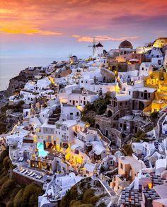 Santorini by Juampi*
