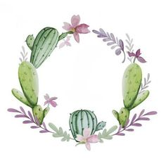 - You are in the right place about cactus dessin Here we offer you the most beautiful pictures about - Cactus Drawing, Watercolor Cactus, Cactus Art, Wreath Watercolor, Watercolor Paintings, Cactus Plants, Green Cactus, Wreath Drawing, Succulent Wreath