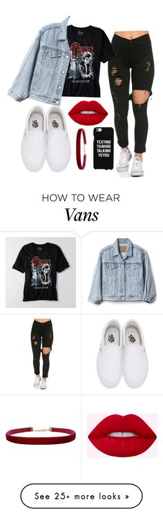 """OOTD"" by iamrosyrosalie on Polyvore featuring Vans, American Eagle Outfitters, Gap, Samsung and Humble Chic"