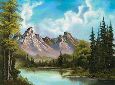 Озеро в горах - Схемы вышивки - Niklaos - Авторы - Портал «Вышивка крестом»