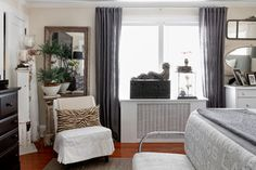 For overall house - good info on window treatments / shades above radiators.