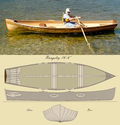 'The Rangeley 15' Row Boat Kit
