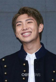Namjon e seu sorriso apaixonante ❤