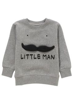Acheter Ras du cou Little Man gris (3 mois - 6 ans) disponible en ligne dès aujourd'hui sur Next : France