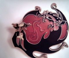 Disney Villian Maleficent Pin  Special Edition Rare From the Being Bad Series