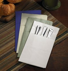 1000 images about table napkin ideas on pinterest - Unique ways to fold napkins ...