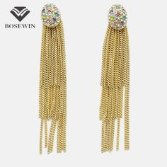 Oval Metal Inlay Multicolor Rhinestone Multilayer Chain Tassel Dangle Drop Earrings For Women  Charm Jewelry Like and Share if you agree!Visit our store --->  http://www.rumjewelry.com/product/bosewin-fashion-oval-metal-inlay-multicolor-rhinestone-multilayer-chain-tassel-dangle-drop-earrings-for-women-2016-charm-jewelry/ #shop #beauty #Woman's fashion #Products #homemade