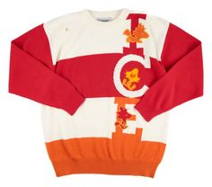 Back to the good old days, in this ICEBERG White Orange Red Cotton Peanuts Woodstock Crewneck Sweater!     Have at it! http://www.frieschskys.com/all-shirts/sweaters     #frieschskys #mensfashion #fashion #mensstyle #style #moda #menswear #dapper #stylish #MadeInItaly #Italy #couture #highfashion #designer #shop