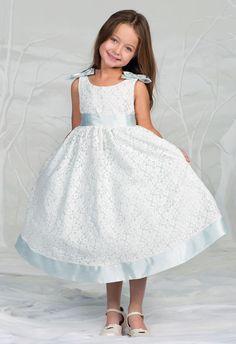 Girls Cap Sleeve Taffeta Dress