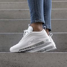 Nike wmns Air Max 97 Ultra EU 36 – 42 check link in bio Souliers Nike, Skinny Jeans Damen, Nike Wmns, Nike Kicks, Sneakers Fashion Outfits, Ootd Fashion, Fashion Belts, Fashion Boutique, Womens Fashion