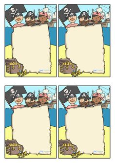 Twinkl Resources >> Note From Teacher- Pirate Themed- Editable >> Classroom printables for Pre-School, Kindergarten, Elementary School and beyond! Teacher Notes, Awards, Pirate Theme, Class Management