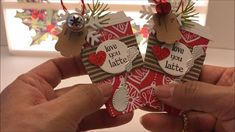 Christmas Coffee Themed Tags Super Cute! - YouTube