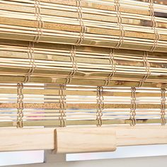 Petite Rustique Bamboo Cordless Roman Shade - 17135838 - Overstock - Great Deals on Arlo Blinds Blinds & Shades - Mobile