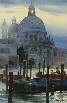 My watercolor in Venice (since 2009 ~ By Chien Chung Wei Watercolor City, Watercolor Artists, Watercolor Techniques, Watercolor Landscape, Painting Techniques, Landscape Art, Landscape Paintings, Watercolor Paintings, Watercolours