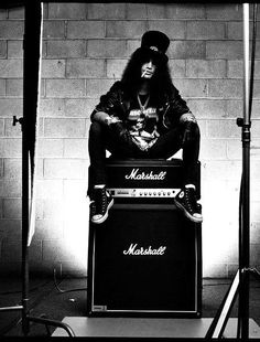 Slash. He's just too good. I could listen to him play all day.