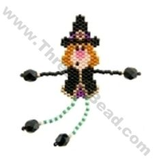 Witch Dangler Bead Pattern By ThreadABead