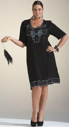 Shop 1920s Plus Size Dresses and Costumes | Plus size dresses ...